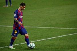 Messi kembali berlatih dengan Barcelona, Senin sore (video)