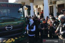 Gubernur Khofifah lepas ekspor 19,2 ton kopi ke Inggris