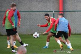 Pelatih timnas Belgia tak mau ambil risiko mainkan Hazard lawan Islandia
