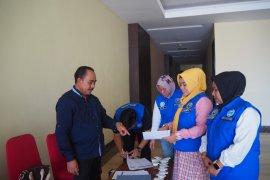 10 pasangan Balon Bupati/Wali Kota tes urine di BNNP Malut