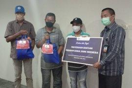 BI Maluku salurkan bantuan sembako 300 paket di Ambon