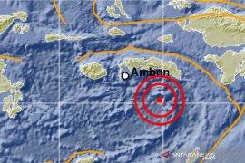 Gempa dengan magnitudo 6,2 guncang Laut Banda