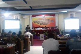 DPS delapan kecamatan di Kota Ternate 115.880 jiwa