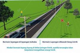PLN : Demi keselamatan, hindari bermain layang-layang di bawah jaringan listrik