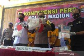 Polres Madiun ringkus lima tersangka kasus narkoba
