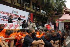 Operasi Tumpas Narkoba Semeru di Kota Malang ungkap 24 kasus