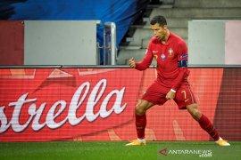 Ronaldo borong dua gol bantu Portugal pecundangi Swedia 2-0, UEFA Nations League