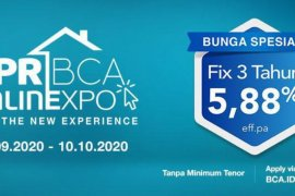 Bank Central Asia hadirkan KPR BCA ONLINEXPO