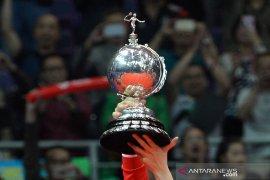 Apriyani/Putri membuat Tim Uber Indonesia unggul 3-0 atas Prancis