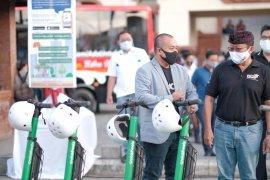 GrabWheels dalam Peluncuran Trans Metro Dewata di Bali