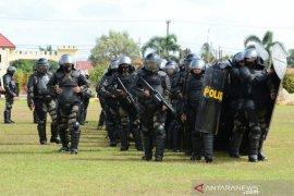 Brimob Polda Kalsel bentuk Detasemen Tangkal amankan Pilkada 2020