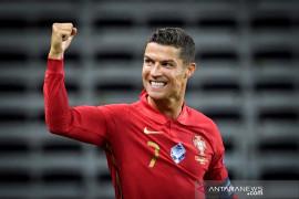 Cetak 100 gol untuk Portugal, ini komentar Ronaldo usai pertandingan
