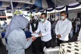 Peringatan HUT ke-115 PDAM Tirtanadi dilaksanakan dengan protokol kesehatan