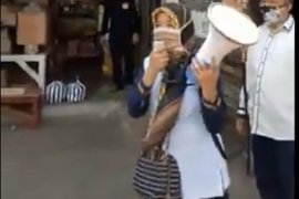 Puluhan ASN Pemkot Sukabumi sisir warga tidak gunakan masker