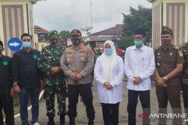 Polres Batanghari libatkan bakal calon bupati kampanye penggunaan masker