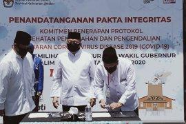 Bacagub Denny Indrayana absen tandatangani komitmen taati protokol kesehatan COVID-19