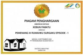 Kinerja terbaik kebun/pabrik PTPN IV dapat penghargaan