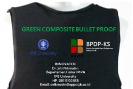Dosen IPB University ciptakan baju antipeluru dari tandan kosong sawit
