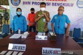 BNN Bengkulu tangkap kurir narkoba asal Pekanbaru