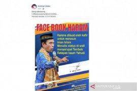 Beredar poster Ustaz Abdul Somad haramkan Facebook, benarkah?