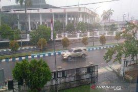 BMKG sebut Bengkulu diguyur hujan lebat hingga malam