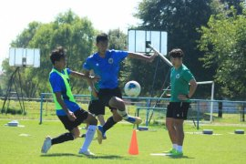 Timnas Indonesia U-19 tahan imbang Arab Saudi 3-3