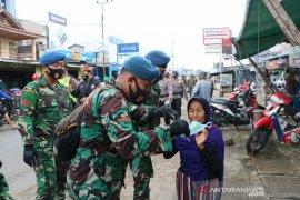 Lanud Supadio partisipasi kampanyekan penggunaan masker
