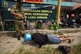 Pemkot Singkawang kenakan sanksi pada pelanggar protokol kesehatan