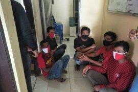 Polsek Tanjung amankan lima tersangka  Narkotika