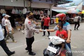 Polres Bengkayang dan forkopimda kampanye penggunaan masker
