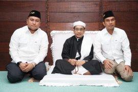 Calon Bupati Labuhanbatu Utara silaturahmi ke Tuan Guru Babussalam Langkat