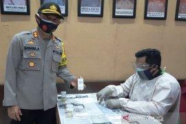 100 personel Polresta Banjarmasin tes urine cegah penyalahgunaan narkoba