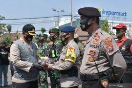 Kampanye Penggunaan Masker di Madiun