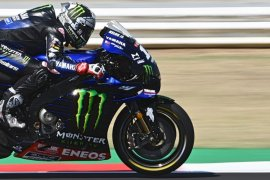 Maverick Vinales rebut 'pole position' GP San Marino, empat Yamaha terdepan