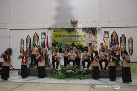 Wabup HSS buka program latgab Pramuka Penegak se kabupaten