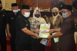 DPRD Tabalong laksanakan rapat paripurna nota keuangan APBD 2021