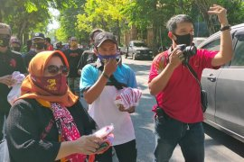 Tingkat kepatuhan masyarakat memakai masker hanya 59,32 persen