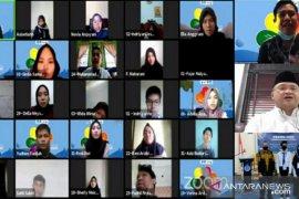 Maba UBB ikuti PKKMB Tahun 2020 secara daring