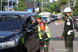 Jalur Puncak Bogor dilakukan pembatasan jelang PSBB total DKI