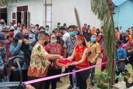 Wakil Bupati Resmikan 4 Rumah Gizi di Kecamatan Belitang Hulu