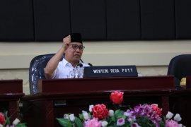 Menteri Desa arahkan sisa dana desa digunakan program padat karya tunai