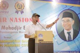 Menko PMK minta warga Muhammadiyah pelopori gerakan pakai masker