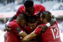 Gol  Luiz Araujo bawa Lille amankan tiga poin dari Metz