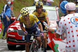 Perjuangan Higuita terhenti  di Tour de France akibat kecelakaan