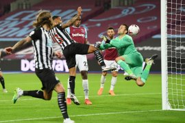 Callum Wilson janjikan gol lebih banyak bagi Newcastle United