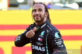 Lewis  Hamilton dan  tim Mercedes berpeluang pecahkan rekor di Portugal