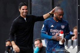 Alexandre  Lacazette tegaskan bahagia di Arsenal