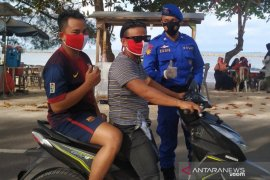 Pantai Pasir Padi Pangkalpinang ditetapkan zona wajib masker