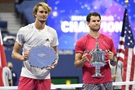 Statistik final US Open Dominic Thiem vs Alexander Zverev