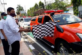 Mobil Gunner di Kediri